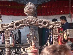Dragon on the bell-chhepu