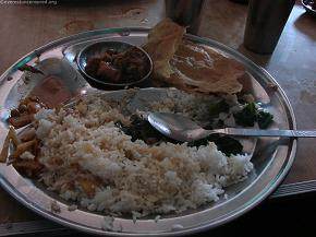 Lunch at Narayan dai`s hotel