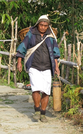 Local at Ghandruk