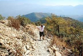 NirajS and the rocky trail