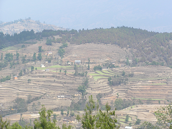 Hiking from Telkot to Nagarkot via Uttarpani