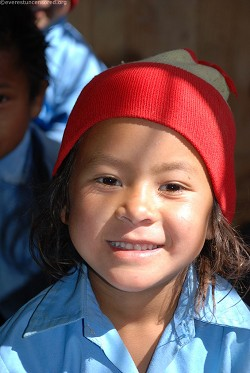Million dollar smile of little miss Moktan