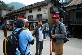 Over hiking plan at Sudarijal market