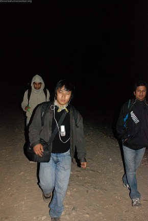 Leaving for Deurali from Mude at 4 in the morning