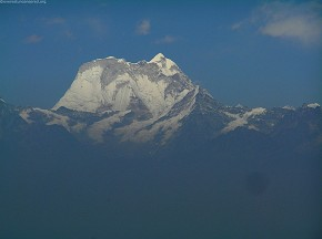 Melungtse 7181m (Tibetan- Jobo Garu) the highest mountain of the Rolwaling Himal