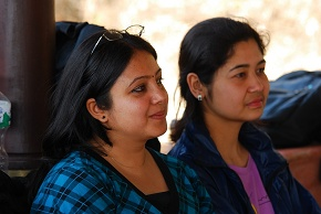 Sangita and Sweta