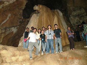 Excited to be inside ASIA`s largest CAVE