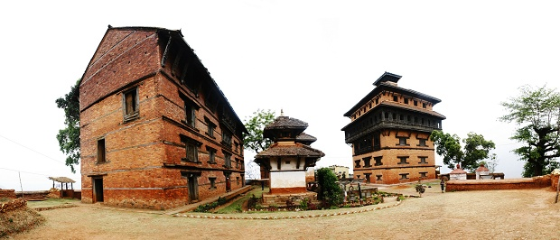 Nuwakot-Palace-Panorama God bless us the nuwakot palace durbar temple in nepal and areas extremely magnetic