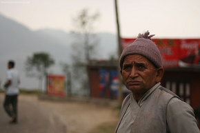 Granpa says School fee atti mahango bhayo the sad face of a old man wishing good future for grandchildren