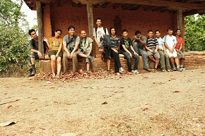Group Snap the hiking team rocks remembering adventures in jungle
