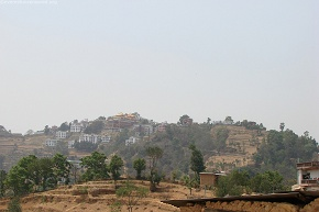 Distant View of NamoBuddha