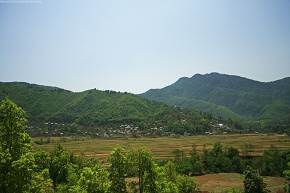 A distant hill is Fulchowki