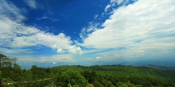 Wide open Nagarkot