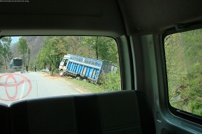 Highway accident