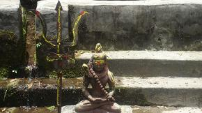 Statue of Lord Shiva at Baaghdwar