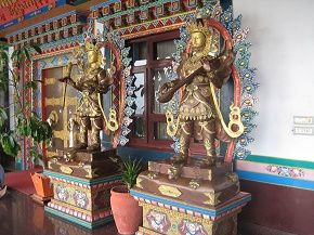 Two of the 5 Buddhas