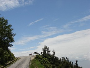 Culmination point of Araniko Highway