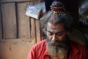 English speaking Sadhu