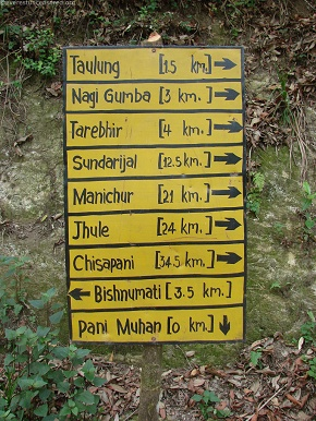 Hiking Trails at Shivapuri National Park