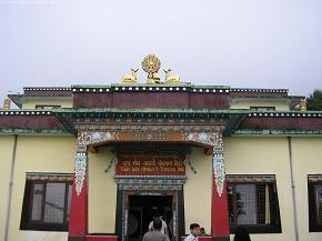 The Nagi Gompa Monastary