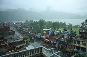 When it rains in Pokhara