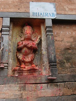 Bhairab goes all red