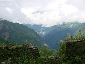 Place where Jungha Bahadur used to monitor Tibetian Army
