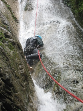 Mistake in Canyoning - Stumbling