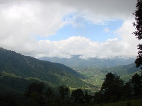 Chitlang seen from chandra giri