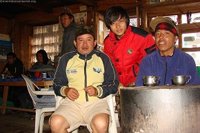 Gurung Brothers - They where around us all the way from Trishuli