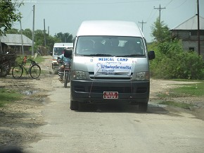 Medical Camp - on the way