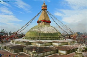 Boudhanath Stupa (one of the holiest Buddhist sites in Kathmandu)