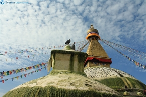 Different perception of Boudhanath Stupa