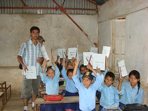 Distributing copies and Pencils