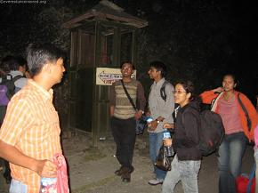 Arriving at the Everest Panorama Resort in Daman