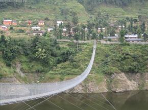 The Markhu Suspension bridge
