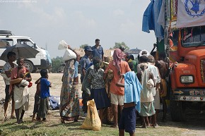 WFP with food supplies