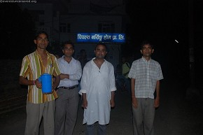 Dr. Kabindra and his team from Rajbiraj