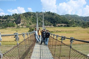 Shaky Suspension bridge