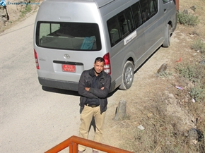 security personnel of van