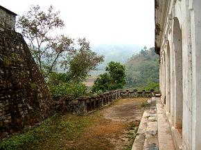 Backyard view of Rani Mahal