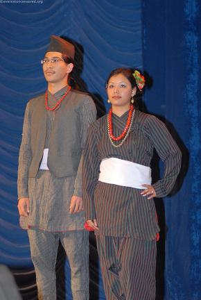Newari attire - Nikesh n Jyotsna