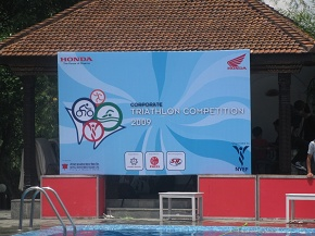 Triathlon Competition organized by NYEF