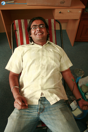 the second donor Lokesh Gupta