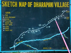 day1and2  Map of Dharapani
