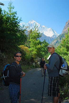 day3 limps of Annapurna II above