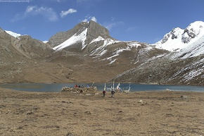day5  Ice lake at 4500m elevation