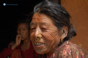 109. typical nepalese grandma