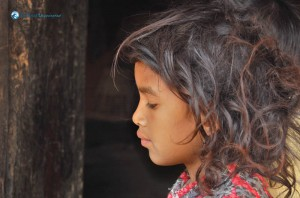 110. Typical nepalese native village girl