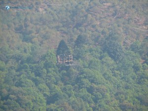 26. Temple in woods